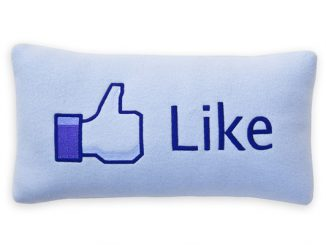Facebook Like Pillow