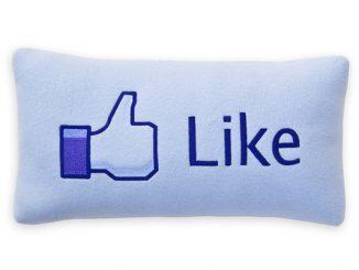 Facebook Like Pillow