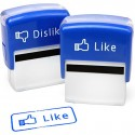 Facebook Like Stamps