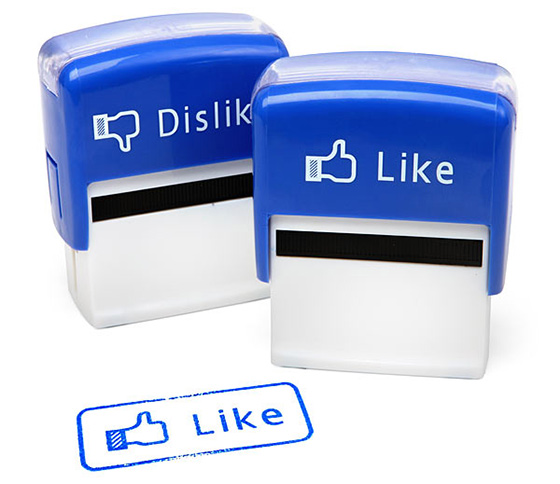 Facebook Like Stamps