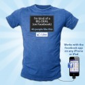 Facebook Status Display T-Shirt