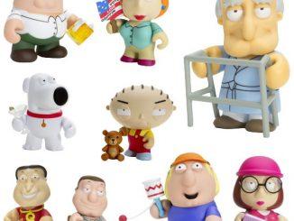 "Family Guy 3"" Mini Figures"