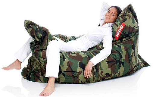 Fatboy Camo Pillow