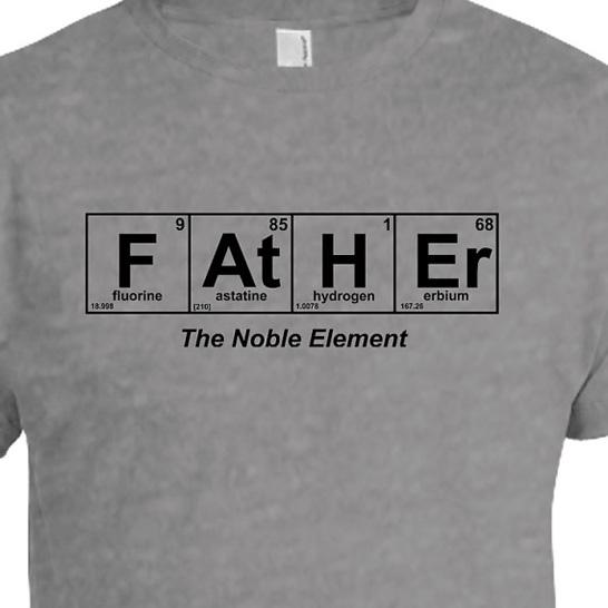 Father the noble element t shirt father element t shirt urtaz Choice Image