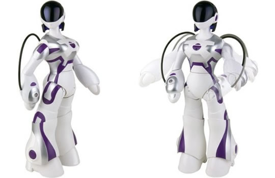 WowWee   S First Female Robot Ever  Femisapien  Is Now Available For
