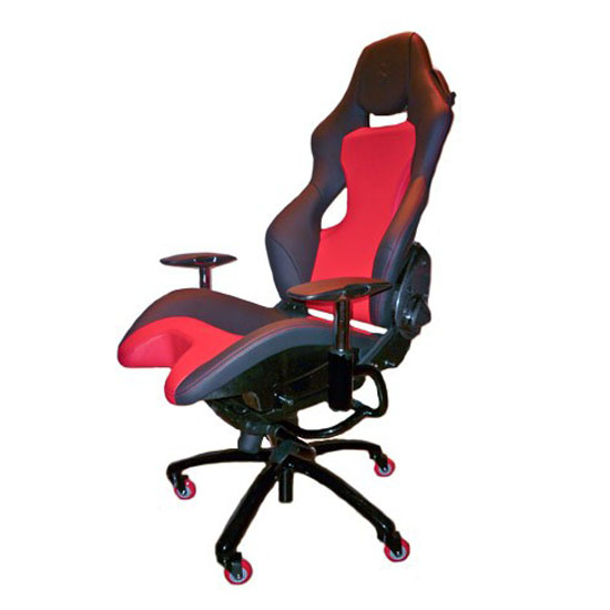 f430 scuderia 16m leather & carbon fiber office chair