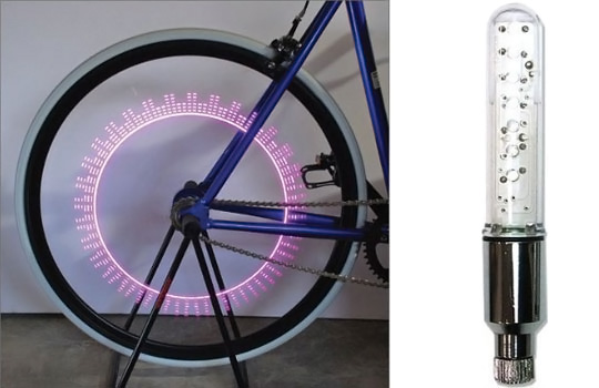 Ferris Wheel LED Bicycle Light