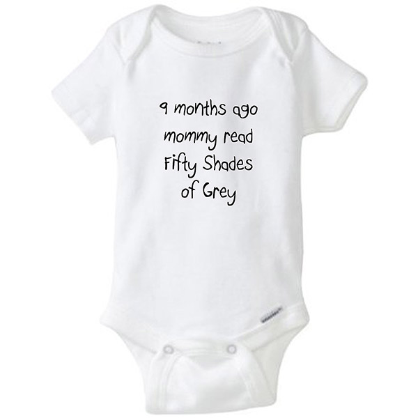 Fifty Shades of Grey Baby Onesie