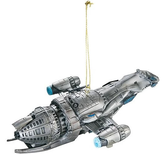 Firefly Serenity Spaceship Ornament