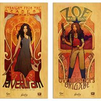 Women of Firefly Les Femmes Posters