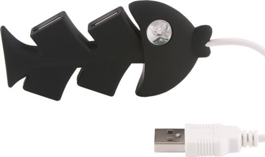 Fishbone USB Hub
