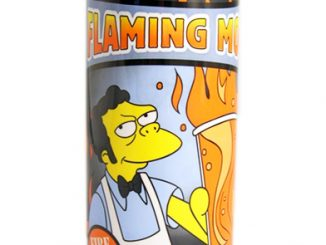 The Simpsons Flaming Moe Energy Drink