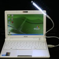 10-LED Gooseneck USB Lamp