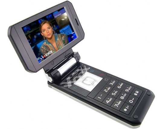 Swivel Widescreen Multimedia Cell Phone