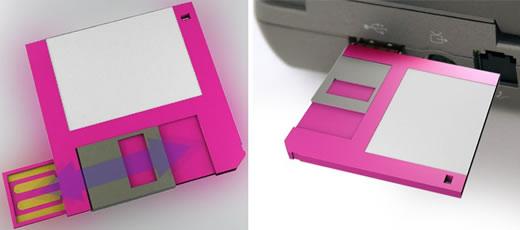 Floppy Disk USB Drive