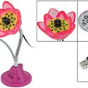 Flower Webcam with 12 LEDs