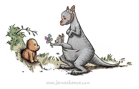 James Hance Star Wars Winnie The Pooh Art