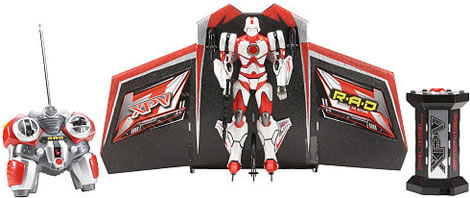 The Ultimate Flying R/C Robot