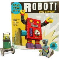 Fold Your Own Robot 2012 Calendar
