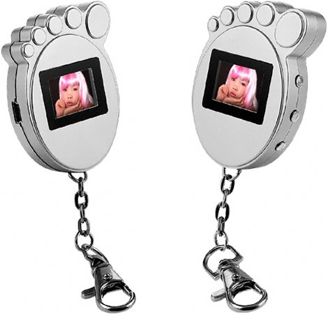 Foot Digital Photo Frame