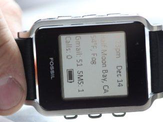Fossil Bluetooth Watch