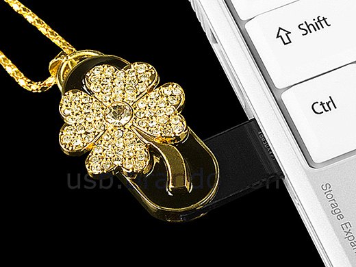 4 Leaf Clover USB Flash Drive