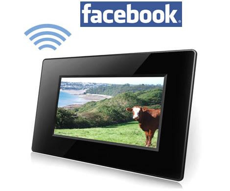 WiFi Photo Frame with Facebook Support