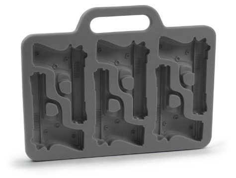 Fred and Friends Freeze Handgun-Shaped Ice-Cube Tray