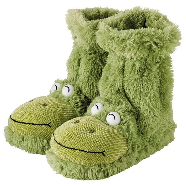 Frog Fun for Feet Slipper Socks