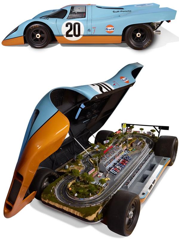 full-sized Porsche 917 Le Mans Raceway