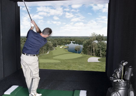 Interactive Golf Simulator
