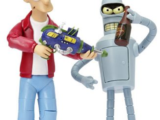 futurama fry and bender action figures