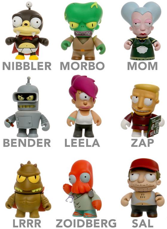 Futurama Mini Figures