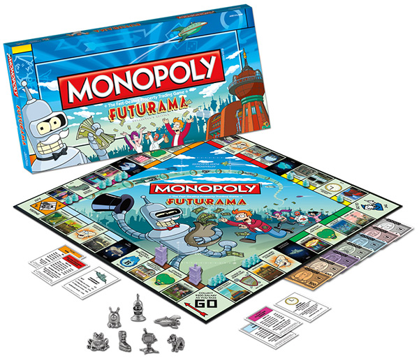 Futurama Collector's Edition Monopoly