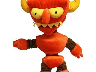 Toynami Futurama Robot Devil Plush 2011 San Diego ComicCon Exclusive