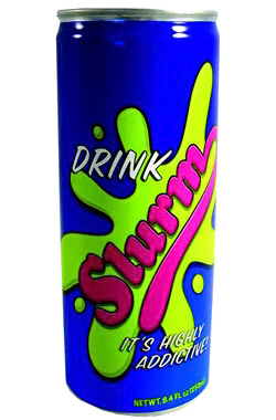 Futurama Slurm Energy Drink