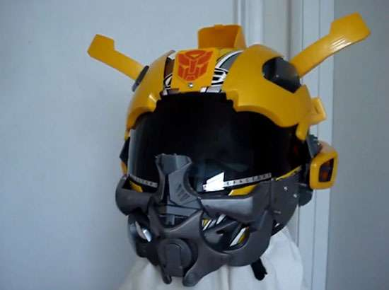 Transformers Motorcycle Helmet