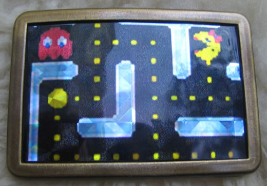 Ms. Pac-Man Belt Buckle