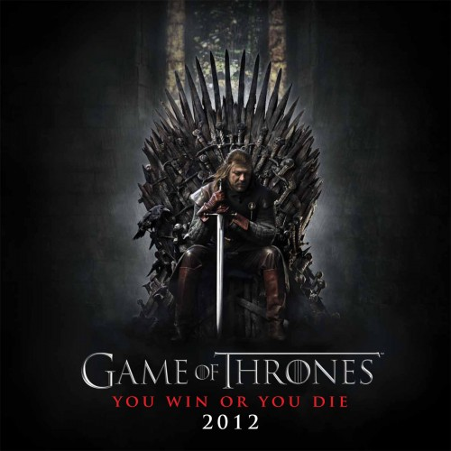 Game of Thrones Calendar 2012