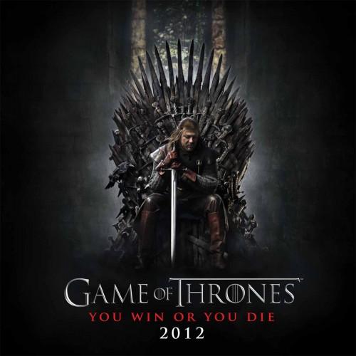 Game of Thrones Calendar 2012