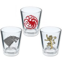 Game of Thrones House Shot Glasses