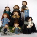 Game of Thrones Crocheted Dolls