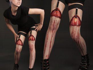 Horror Gartered Legs Prosthetics
