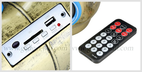 Gas Tank USB Audio Player