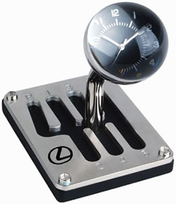 Gear Shift Clock