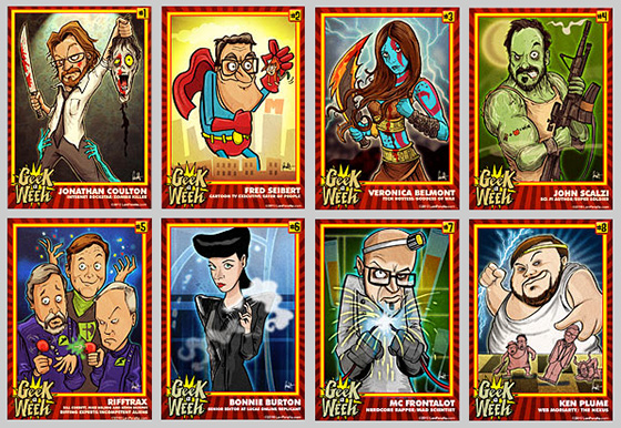 Geek A Week Cards