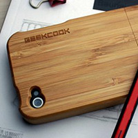 Geek Cook Bamboo iPhone 4 Case