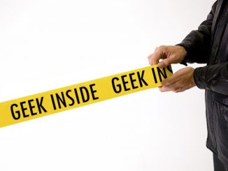 Geek Crime Scene Tape