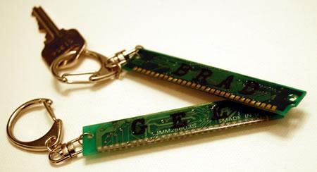 RAM Geek Keychain