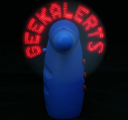 LED Message Fan